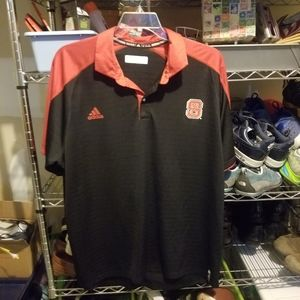 Adidas N.C. State Wolfpack Golf Polo